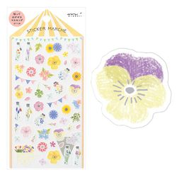 Sticker Marche - Pressed Flower