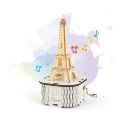 수동오르골 파리 에펠탑(YM-862-32)