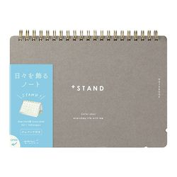 Notebook A5 +Stand Cross Dot Gridded