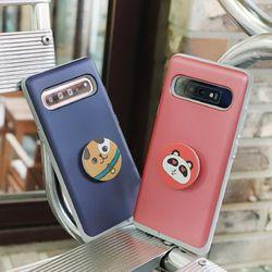 갤럭시와이드4 (A205) Liso-DogTok 그립톡 카드 범퍼 케이스