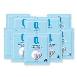 온니온니 o2 블랙 버블마스크팩 (10매입)