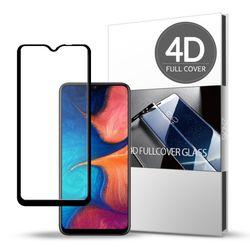 스킨즈 삼성 갤럭시A20E 4D 풀커버 강화유리필름 (1장)