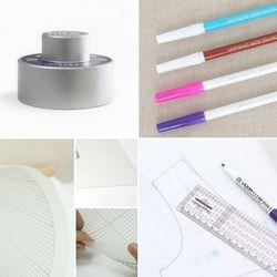 소잉데일리 소잉기본상품롤 패턴지 문진 펜초크 열펜