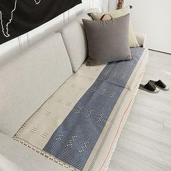 세미블루블랑 거실 러그 150x70cm 카페트