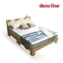 코넬 댄디 퀸 원목 침대 독립매트 DFM007