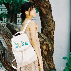 Tangerine backpack (beige)