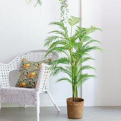 130cm 리얼한 아레카 야자나무 조화 단품 야자