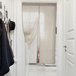 사계절 바란스 가리개 테슬 커튼 3color (90x180cm)