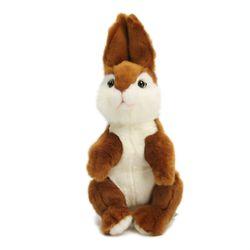 4744 토끼갈색 동물인형31x14cm