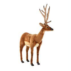 4509 흰꼬리사슴 동물인형105cm.H