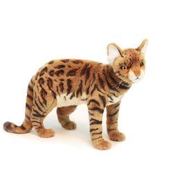 6354 벵갈고양이 동물인형(Brown)45cm.L