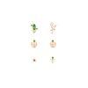 [플라밍고와 선인장] 숲속 패키지 로즈골드 귀걸이 OTE619616QPX