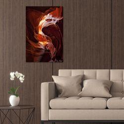빛나는 햇살 협곡 멋있는 루나섹 사진액자 2