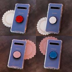 갤럭시와이드4 (A205) FuerteTok 그립톡 투명 범퍼 케이스