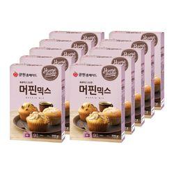 (한박스10개입) 큐원 머핀믹스 (오븐용)