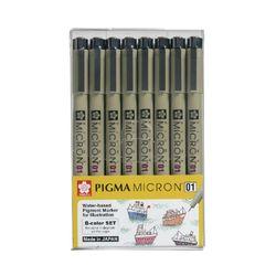 피그마 마이크론 잉크펜 8본세트