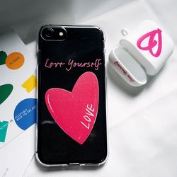 love yourself2 - 러브 유어셀프2 클리어케이스