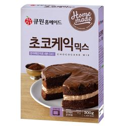 (한박스10개입) 큐원 초코케익믹스 (전자레인지용)