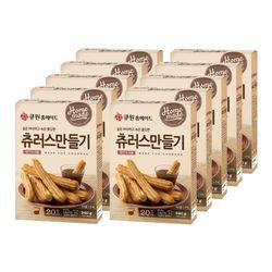 (한박스10개입) 큐원 츄러스만들기믹스 (프라이팬용)