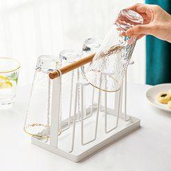원목 컵걸이 컵건조대 컵정리 컵꽂이 컵홀더 거치대