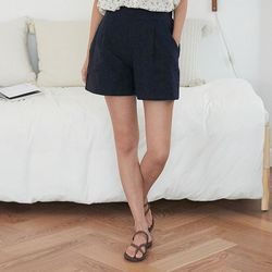 colorful linen short pants