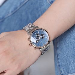 쥴리어스옴므 남자 메탈 손목시계 JAH-100