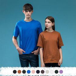 시그니처 라운드 티셔츠 W