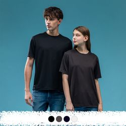 시그니처 쿨론 라운드 반팔 티셔츠 W