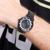 쥴리어스옴므 남자 가죽 손목시계 JAH-103