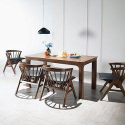 그로잉 4인 원목 식탁세트(의자)