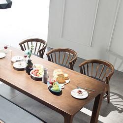 그로잉 6인 원목 식탁세트(의자)