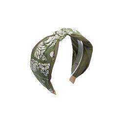 [오뜨르뒤몽드] paisley knot hairband (khaki)