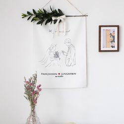 웨딩 월데코(로맨틱 웨딩) 올리브 가지형