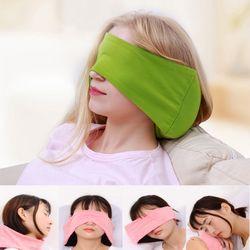 안대 목베개 소형 컬러 여행 쿠션 휴대 겸용