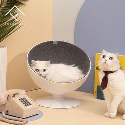 회전 고양이 하우스