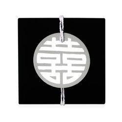 그레이 전통 문양 원형 [텍] (10개)