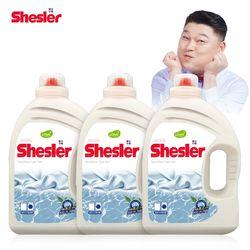 강호동의 쉬슬러 센스티브 고농축 세탁세제 (3.05L 3개)