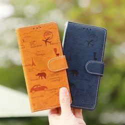 갤럭시노트5 (N920) Aire-TonleSap 지갑 다이어리 케이스