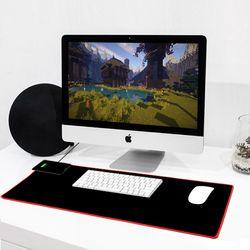 엑스트라 파워패드-X4(무선충전 & 게이밍 마우스 장패드)