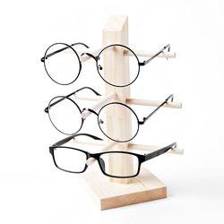 원목 안경거치대 3단 선글라스거치대 안경걸이