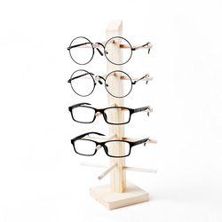원목 안경거치대 5단 선글라스거치대 안경걸이