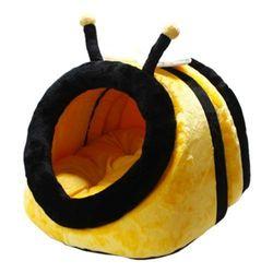 채널펫 캐릭터 하우스 꿀벌(옐로우)