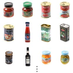 미니어쳐로 만나는 이탈리아 요리여행-소스&디저트