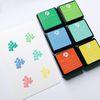Dye Ink Pad 6 Cubes Set - 2