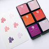Dye Ink Pad 6 Cubes Set - 3