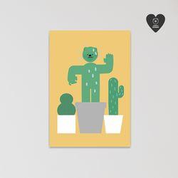 (유기견후원)독맨엽서-cactus