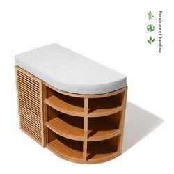 대나무 코너 벤치 Bamboo Corner Bench