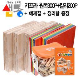 샘통카프라300p(자작) 칼라(원색)200p 정리함 예제집