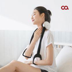 오아 넥앤멀티 무선 목 어깨 안마기 온열 마사지기 OA-MA026