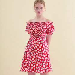 Smocking Dress Floral